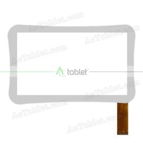 Digitizer Touch Screen Replacement for MLS iQTab iQ7041B Kido Extra 7 Inch Tablet PC