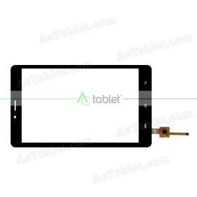 YTG-G80062-F1 V1.0 Digitizer Glass Touch Screen Replacement for 8 Inch MID Tablet PC