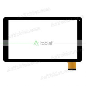 HD96-V00 PFKC Digitizer Glass Touch Screen Replacement for 10.1 Inch MID Tablet PC
