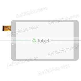 MGLCTP-801126-80697FPC Digitizer Glass Touch Screen Replacement for 8 Inch MID Tablet PC