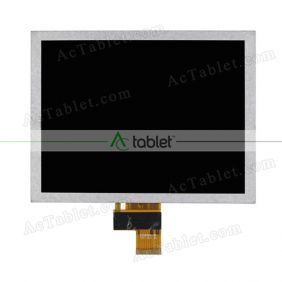 Replacement EJ080NA-04C LCD Screen for 8 Inch Tablet PC