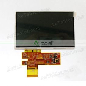 Replacement HSD050IDW1-A20 LCD Screen for 5 Inch Tablet PC
