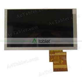 Replacement HSD062IDW1 A00 LCD Screen for 6.2 Inch  Tablet PC