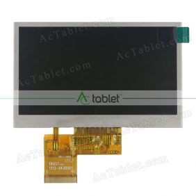 Replacement HSD043I9W1-A00 LCD Screen for 4.3 Inch Tablet PC