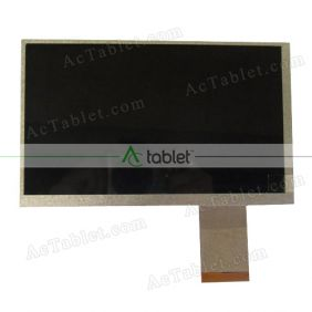 Replacement HSD070IDW1-D00 LCD Screen for 7 Inch Tablet PC