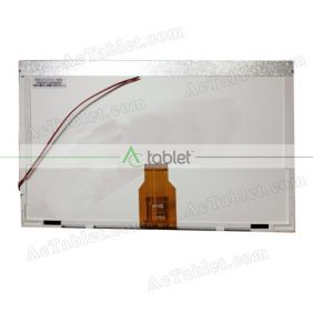 Replacement HSD101GT12-HDM LCD Screen for 10.1 Inch Tablet PC