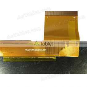 Replacement 754TG700B250001 LCD Screen for 7 Inch Tablet PC