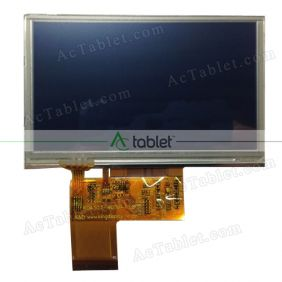 Replacement TL-C430VEC420 LCD Screen for 4.3 Inch Tablet PC