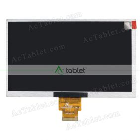 Replacement 73002016172C LCD Screen for 7 Inch Tablet PC