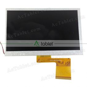 Replacement FPC-70CH618 LCD Screen for 7 Inch Tablet PC