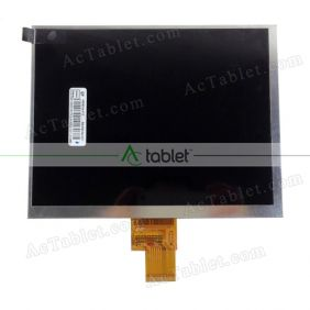 Replacement 32001355-10 LCD Screen for 8 Inch Tablet PC