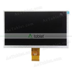 Replacement LCD Screen for Ematic Edan XL EGS109BL 9 Inch Tablet PC