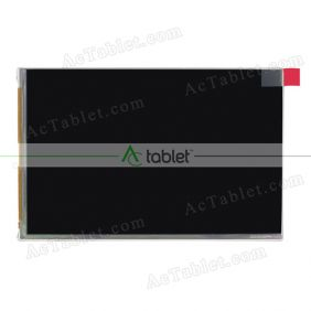 Replacement 070WP03S LCD Screen for 7 Inch Tablet PC