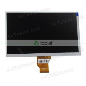 Replacement YX0900725-FPC LCD Screen for 9 Inch Tablet PC