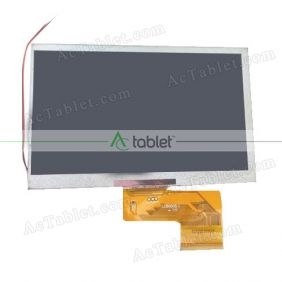 Replacement KR070PE2T LCD Screen for 7 Inch Tablet PC