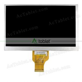 Replacement H-B07018FPC-AI1 LCD Screen for 7 Inch Tablet PC