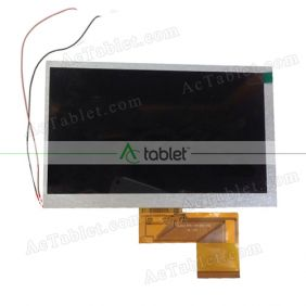 Replacement FPC-Y81860 V2 LCD Screen for 7 Inch Tablet PC
