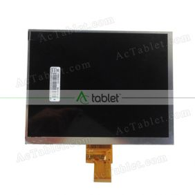 Replacement KR080LAOS LCD Screen for 8 Inch Tablet PC