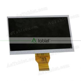 Replacement KX0705005-A0 LCD Screen for 7 Inch Tablet PC