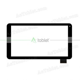 Digitizer Touch Screen Replacement for Fusion5 10.1 inch 149 Model MTK8127 Quad Core Tablet PC