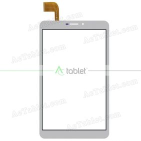 Digitizer Touch Screen Replacement for MLS iQTab Bullet 3G 8 Inch Tablet PC