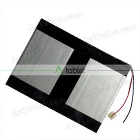 Replacement 6400mAh Battery for Tivax MiTraveler 10Q-8 10Q8 Quad Core 10.1 Inch 10 Tablet PC