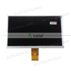 Replacement HW800480F-4A-0A-40 LCD Screen for 9 Inch Tablet PC