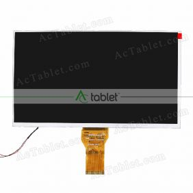 Replacement KR101PA2S LCD Screen for 10.1 Inch Tablet PC