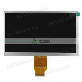 Replacement KD070D33-40NC-A3-REV A LCD Screen for 7 Inch Tablet PC