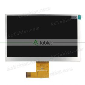 Replacement JB07008HD2FPCB1 LCD Screen for 7 Inch Tablet PC