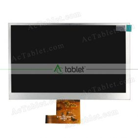 Replacement M-FPC-070-016 V01 LCD Screen for 7 Inch Tablet PC