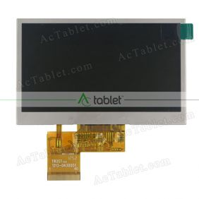 Replacement XWJ4301C6.10 LCD Screen for 4.3 Inch Tablet PC