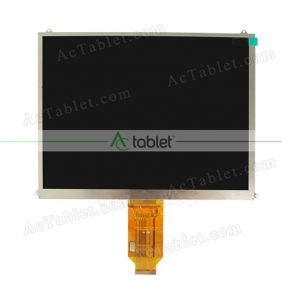 Replacement KD097D2-40NH-A2 V1 FPC LCD Screen for 9.7 Inch Tablet PC