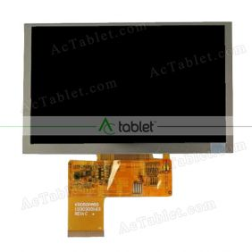 Replacement KR050PA5S 1030300163 REV C LCD Screen for 5 Inch Tablet PC
