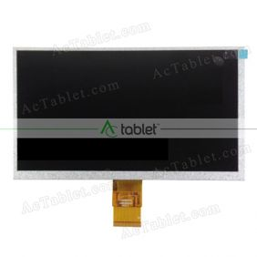 Replacement HW800480F-4A-0A-30 LCD Screen for 9 Inch Tablet PC