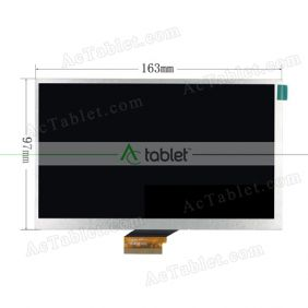 Replacement FPC-B07013002 LCD Screen for 7 Inch Tablet PC