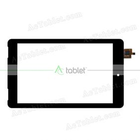 DY-F-07027-V4H Digitizer Glass Touch Screen Replacement for 7 Inch MID Tablet PC