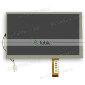 Replacement 73001014463B E231732 LCD Screen for 9 Inch Tablet PC