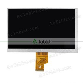 Replacement FPC0704016_A LCD Screen for 7 Inch Tablet PC