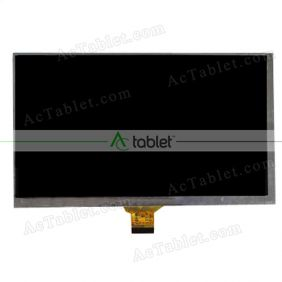 Replacement XYXC070-30-SF6 LCD Screen for 7 Inch Tablet PC