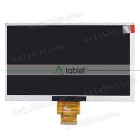 Replacement FY07021DH26B10-1-FPC1 LCD Screen for 7 Inch Tablet PC