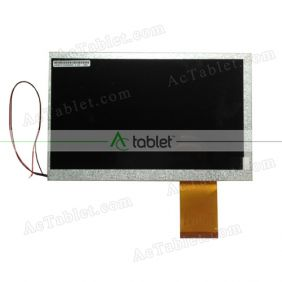 Replacement FPC70D6002F2 LCD Screen for 7 Inch Tablet PC