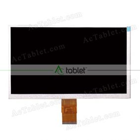 Replacement FPC90040-B LCD Screen for 9 Inch Tablet PC