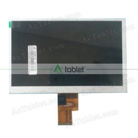 Replacement TXDT700EPL-10V7 LCD Screen for 7 Inch Tablet PC