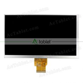 Replacement FY07024DI26A116-1-FPC1-C LCD Screen for 7 Inch Tablet PC