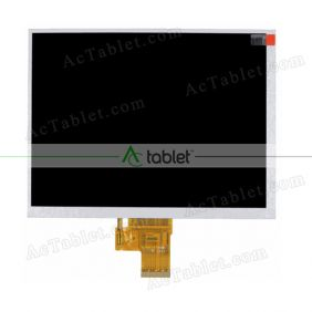 Replacement H-H08027FPC1-C0 LCD Screen for 8 Inch Tablet PC