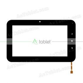 FM700209TB Digitizer Glass Touch Screen Replacement for 7 Inch MID Tablet PC