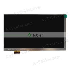 Replacement FPC70030W-MIPI LCD Screen for 7 Inch Tablet PC