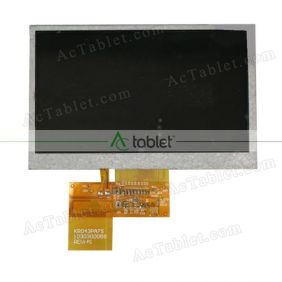 Replacement KR043PA7S LCD Screen for 4.3 Inch Tablet PC
