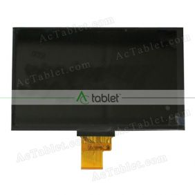 Replacement KR070LF7T LCD Screen for 7 Inch Tablet PC